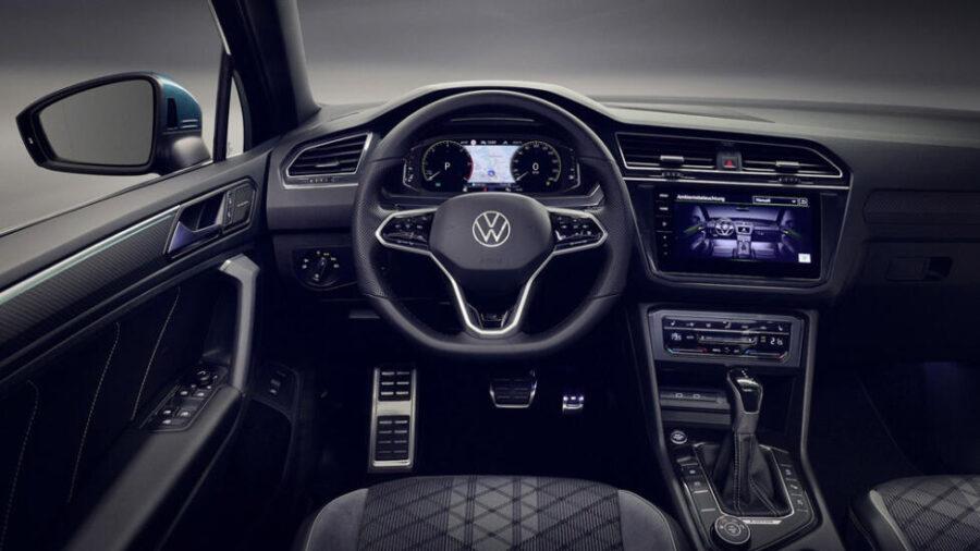 Интерьер Volkswagen Tiguan