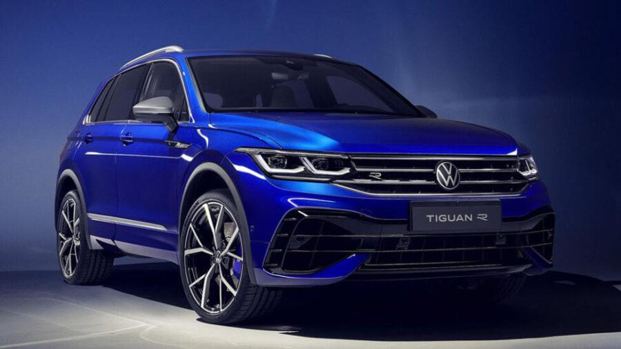 Заряженная версия Volkswagen Tiguan R