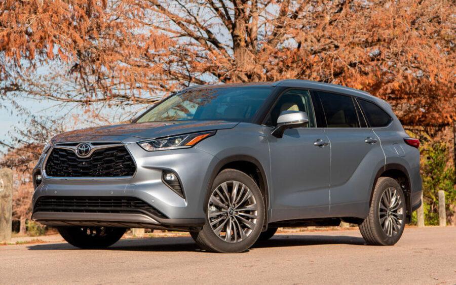 Toyota Highlander: стоимость и доступные версии