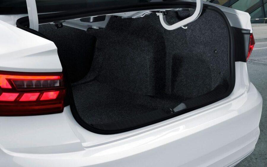 Багажник Jetta седьмого поколения