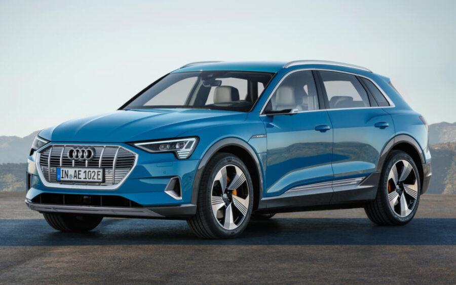 Audi e-tron - первый электрический SUV