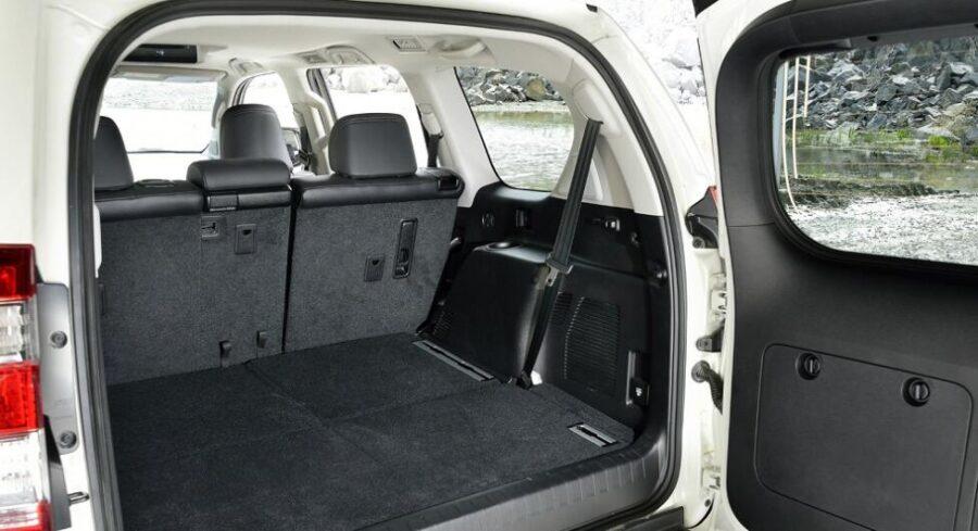 Багажник нового Прадо