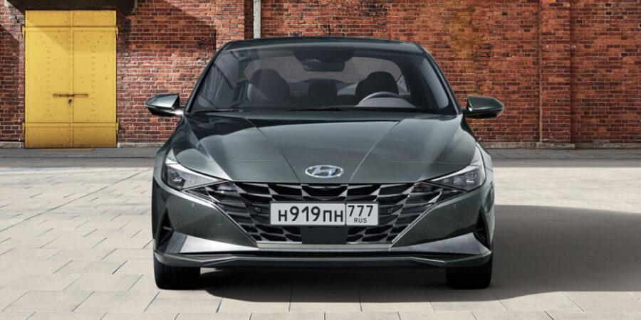 Hyundai Elantra 2020 года скоро появится в России
