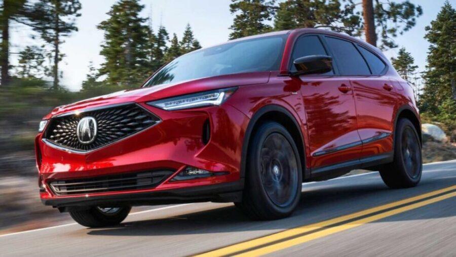 Представлен новый кроссовер Acura MDX