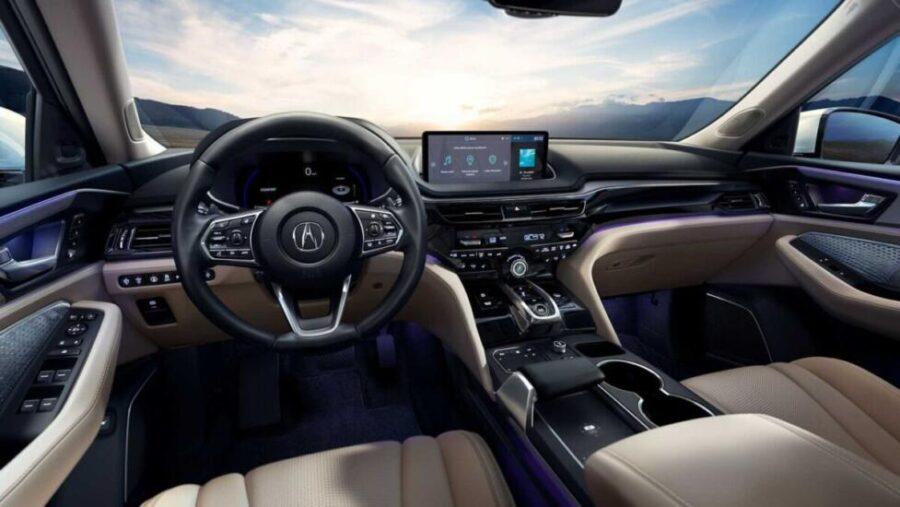 Интерьер Acura MDX