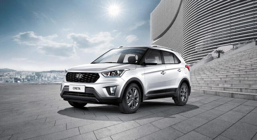 Самый популярный паркетник в РФ - Hyundai Creta