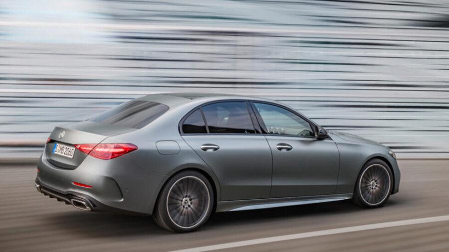 Mercedes-Benz C-Class: вид сзади