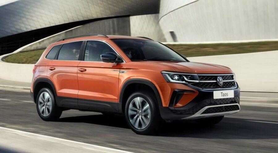 Новый Volkswagen Taos 2021 года скоро в России