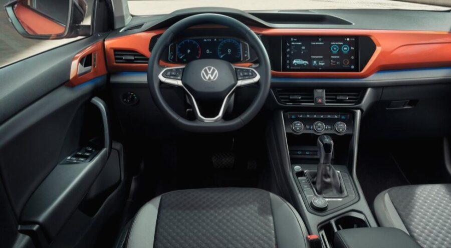 Интерьер Volkswagen Taos
