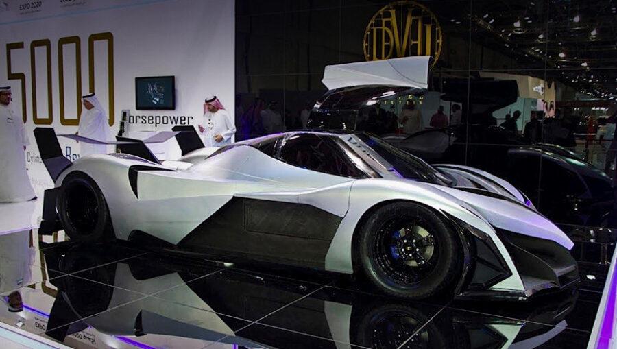 Самая быстрая машина в мире 2021 года