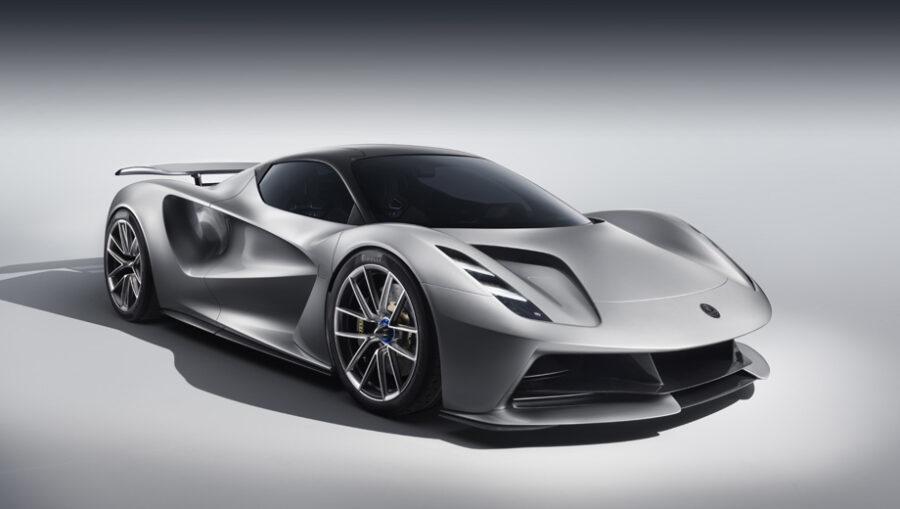 Открывает рейтинг самых быстрых машин в мире 2021 года - Lotus Evija