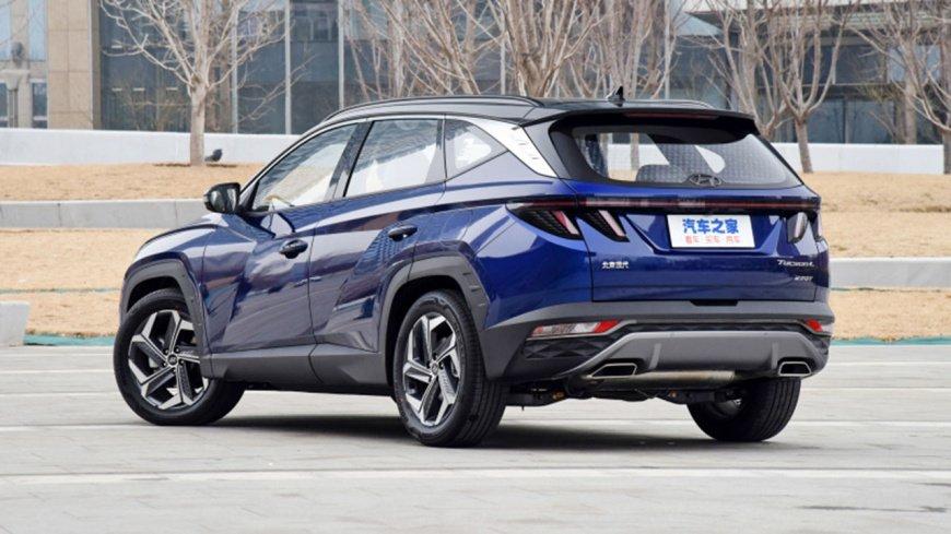 Hyundai Tucson: вид сзади