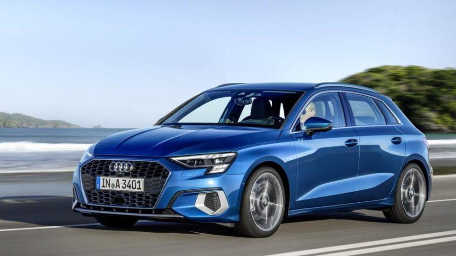 Audi A3 - новый хэтч, который появился в России в 2021 году