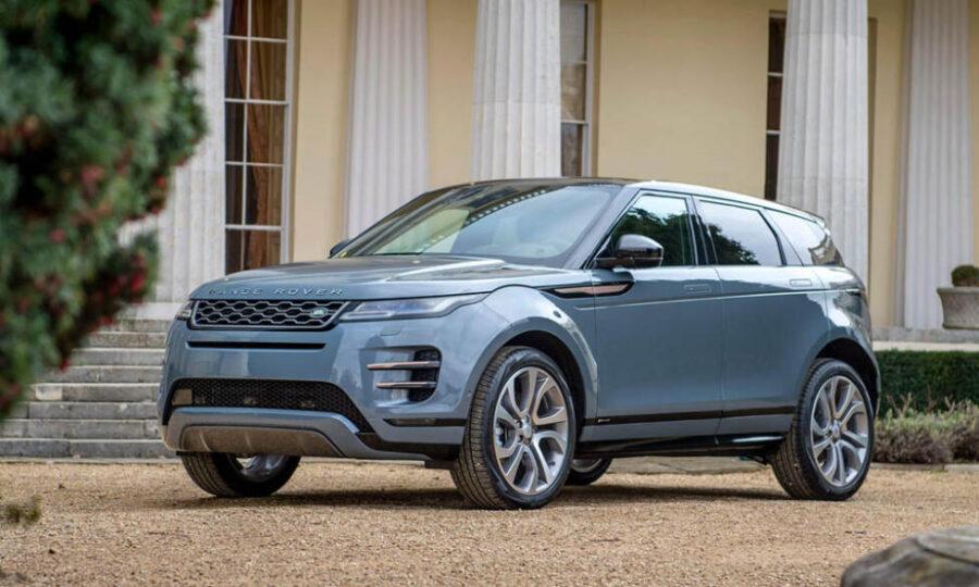 Лучший премиальный кроссовер 2021 года - Range Rover Evoque