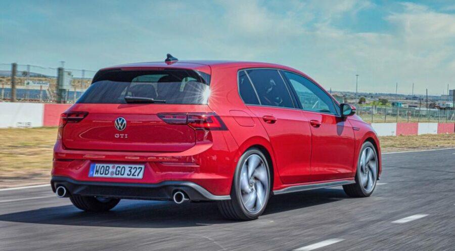 Volkswagen Golf: вид сзади