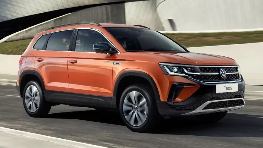 Volkswagen Taos скоро появится в России