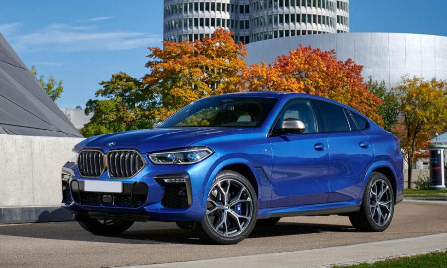 Лучшее премиальное кросс-купе - BMW X6