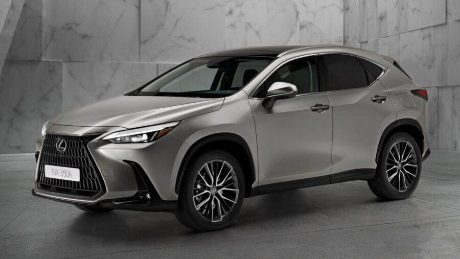 Новый Lexus NX осенью появится на российском рынке