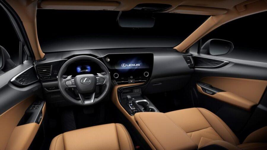 Интерьер Lexus NX