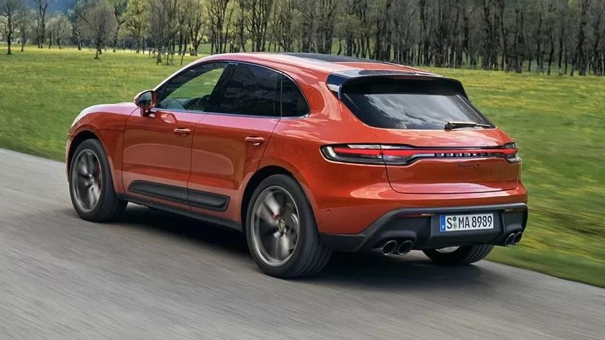 Porsche Macan: вид сзади