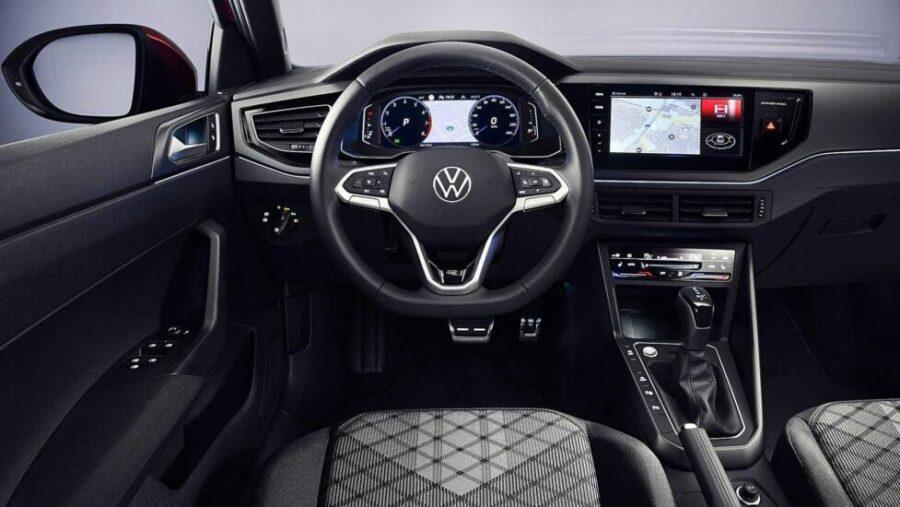 Интерьер Volkswagen Taigo