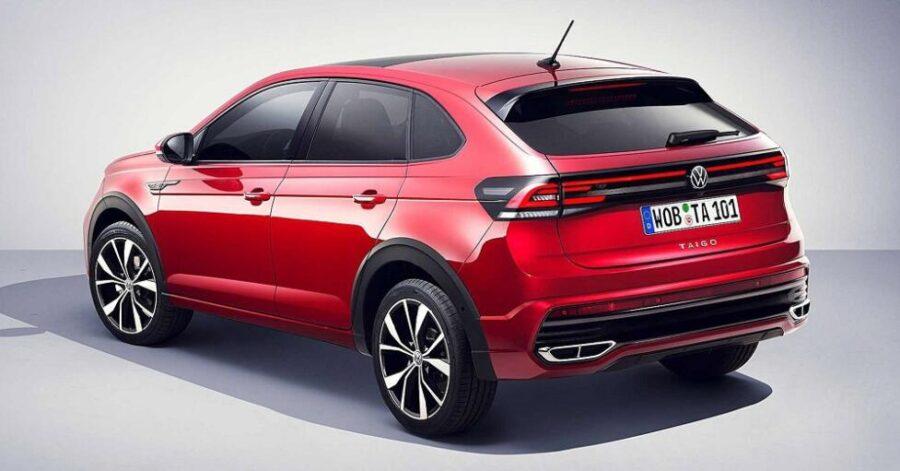 Volkswagen Taigo: вид сзади