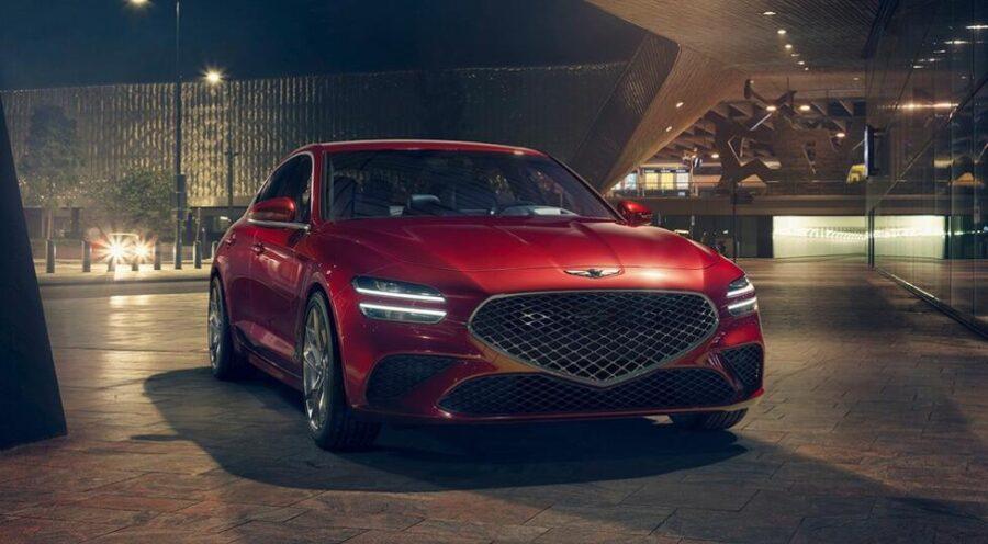 Рестайлинговый Genesis G70 скоро выйдет на рынок РФ