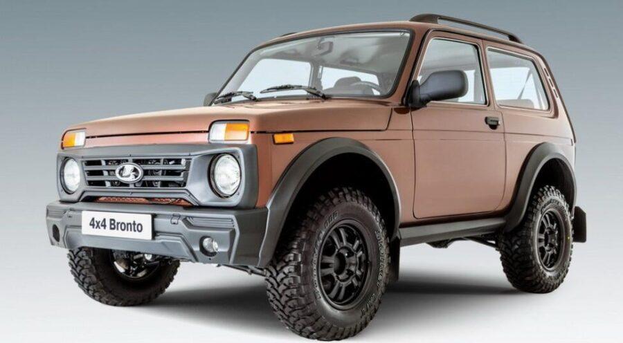 Lada Niva Bronto скоро появится у российских дилеров