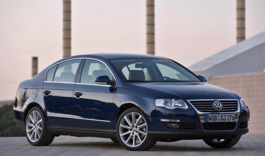 Очень надежный немецкий седан Volkswagen Passat B6