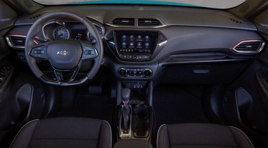 Интерьер Chevrolet Trailblazer