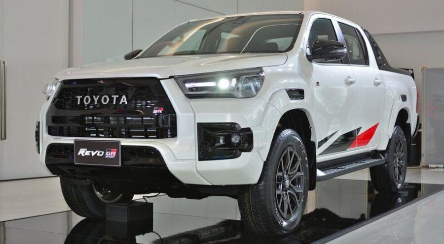 Toyota Hilux GR Sport скоро привезут в Россию