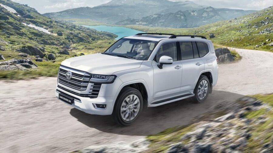 Объявлены цены на дизельный Toyota Land Cruiser 300