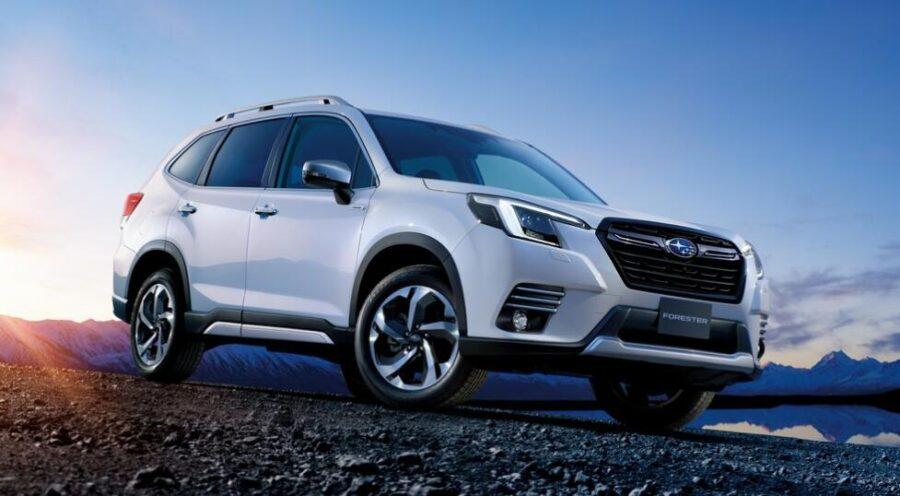 Рестайлинговый Subaru Forester скоро появится в РФ